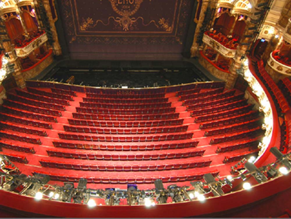 London Coliseum Red Squirrel Architects